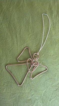 Guardian Angel Ornament (copper wire). $12.00, via Etsy.