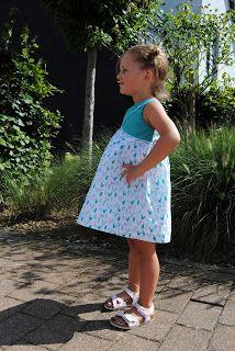 Made by mama Nicky: Het laatste zomerkleedje van 2016 - Tulip kleedje