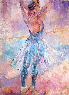 Dancer - Gallery of Dancing Paintings by Woking Surrey Artist Sera Knight