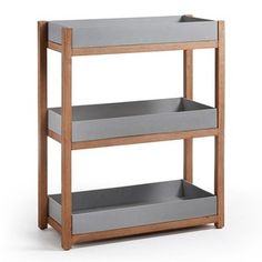 Étagère Luma - Kave Home Office Furniture Design, Home Office Design, Corner Display Unit, Cube Bookcase, Upholstered Dining Chairs, Office Interiors, Plank, Shelving, Home Accessories