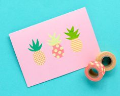 pineapple stickers 3