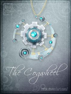 Amulet - The Cogwheel by Rittik on DeviantArt Anime Weapons, Fantasy Weapons, Fantasy Jewelry, Fantasy Art, Magia Elemental, Magical Jewelry, Weapon Concept Art, Fantasy Inspiration, Anime Outfits