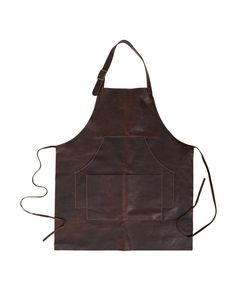 buy Capps Leather Apron - Baldwin Oak by Moore & Giles