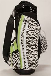 Sassy Caddy Zippy Cart Bag - I don't know if this would improve my game, but it sure would make me happy!