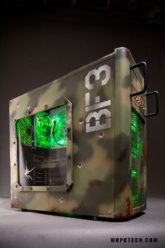 Battlefield PC case mod by www.mnpctech.com