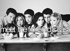 Meet the friends cast!