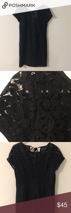 Selling this LOFT Lace Dress on Poshmark! My username is: yeahchels. #shopmycloset #poshmark #fashion #shopping #style #forsale #LOFT #Dresses & Skirts