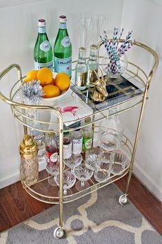bar cart inspiration