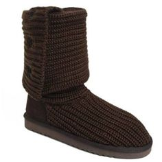 UGG Boots Classic Cardy 5819-Chocolate [UGG Boots Classic Cardy 5819-Ch] - $108.00 :