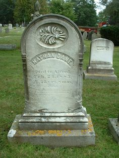 Tombstone Tuesday: Nathan Dane, my 3X great grandfather, from Hope Cemetery in Kennebunk, ME