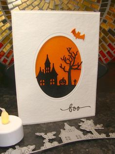 AOCC13 - Happy on Halloween Hill by girlgeek101 - Cards and Paper Crafts at Splitcoaststampers