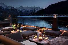 Newly opened in 2017 Seehotel Bellevue is set in Zell am See in the Salzburg Region, offering a sun terrace and views of the mountain and Double Room, Double Beds, Zell Am See, Ski Holidays, Free Park, Restaurant, Marble Floor, Parquet Flooring, Smoking Room