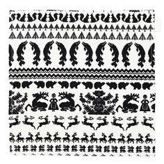 Image of Yö metsässä tea towel/table mat Hemp Fabric, Winter White, White Christmas, Tea Towels, Rugs, Table, Image, Farmhouse Rugs, Dish Towels
