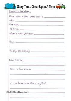 Printables Examples Short Story For Grade Three With Exercises complete the short story grade 3 creative writing pinterest read and once upon a time writing