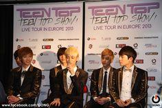 Conférence de presse #TeenTop #Kpop