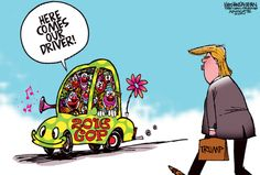 Trump driver of 2016 GOP clown car