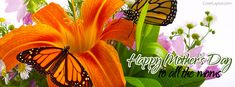 Happy Mother's Day To All The moms Facebook Cover coverlayout.com