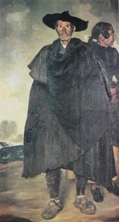 El alcalde de Riomoro y su mujer, Ignacio Zuloaga, ca 1898