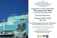 SPECIAL UNVEILING OF THE JERSEY CITY WAVE MURAL – TODAY! - http://streetiam.com/special-unveiling-of-the-jersey-city-wave-mural-today/