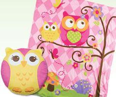AVON - children. Owl throw and pillow duo. $24.99. youravon.com/taylorenterprises