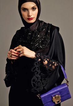 Tweed Rose: New Season SS'17: Abaya Collection by Dolce & Gabbana
