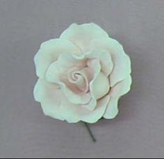 Single rose medium pink 4cm