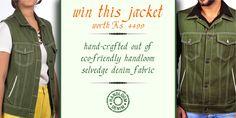 Win A Jacket Contest by Denim Club