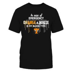 Tennessee Volunteers - Blood type T-Shirt, Special Offer, not available in shops! Comes in a variety of styles and colors Buy yours now before it is too late! Secured payment via Visa / Mastercard / Amex  The Tennessee Volunteers Collection, OFFICIAL MERCHANDISE  Available Products:          Gildan Unisex T-Shirt - $24.95 District Men's Premium T-Shirt - $27.95 Gildan Women's T-Shirt - $26.95 Next Level Women's Premium Racerback Tank - $29.95 District Women's Premium T-Shirt - $29.95 Gildan…