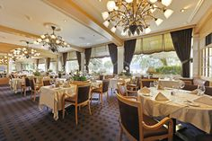 """Restaurant """"Table d'Hôtes"""" at the Beatus - for our guests with gourmet half board."""