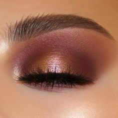 Gorgeous Makeup: Tips and Tricks With Eye Makeup and Eyeshadow – Makeup Design Ideas Eye Makeup Glitter, Copper Eye Makeup, Eye Makeup Tips, Makeup Inspo, Natural Makeup, Makeup Ideas, Copper Eyeshadow, Rose Gold Eyeshadow, Glitter Hair