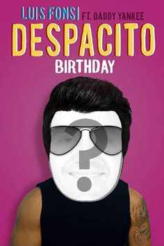 The birthday person stars in the biggest viral sensation ever when you cast 2 in Luis Fonsi's chart-busting single! Happy Birthday Ecard, Birthday Greeting Cards, Birthday Greetings, Daddy Yankee Despacito, Remember Password, Online Greeting Cards, Ecards, Singing, Birthdays