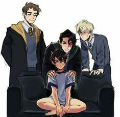 Harry Potter Jk Rowling, Draco Harry Potter, Harry James Potter, Harry Potter Anime, Memes Do Harry Potter, Arte Do Harry Potter, Harry Potter Comics, Harry Potter Artwork, Harry Potter Feels