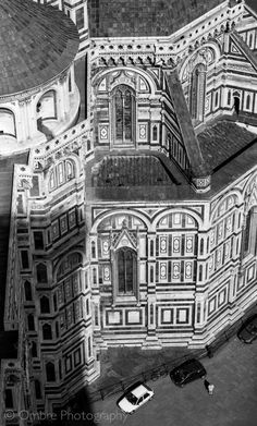 Shadow of the Duomo. Firenze, Tuscany, Italy.