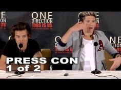 One Direction: This is Us: Harry Styles & Niall Horan Press Conference 1 of 2