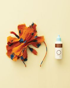 Fabric Pom-Pom Flower Girl Headband How-To - Martha Stewart Weddings Fashion & Beauty