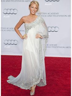 Blake Lively attending the 2011 BAFTA Brits to Watch event in Los Angeles | allure.com