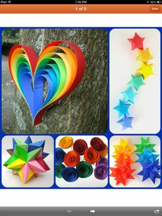 Rainbow party -love the heart