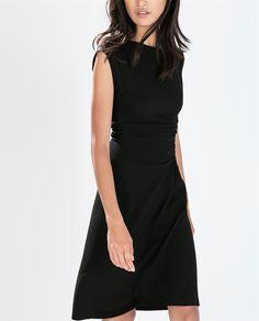 Image 2 of STUDIO GATHERED DRESS from Zara