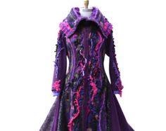 Patchwork sweater Coat Fantasy boho clothing size Small/Medium ...