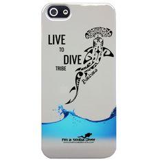 """#cover """"Live to Dive Tribe"""" personalizzabili con nome o nickname - www.imascubadiver.com - unisciti alla tribù"""