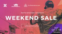 Weekend Sale! Use the coupon code: WEEK218 and grab one of discounted Joomla templates & extensions plans 31% OFF #Joomla #templates #extension #weekend #sale #discount #deal #offer