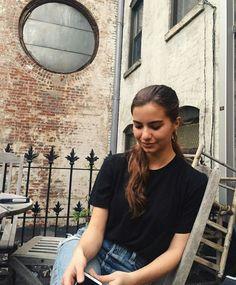 Violetta Komyshan, Iconic Women, Beauty Makeup, T Shirts For Women, Instagram Posts, Hair, Ansel Elgort, Treasure Island, Models