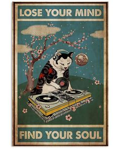 Punk Poster, Soft Kitty Warm Kitty, Lose Your Mind, Illustration Sketches, Illustrations, Smart Art, Good Thoughts Quotes, Pretty Images, Retro Wallpaper