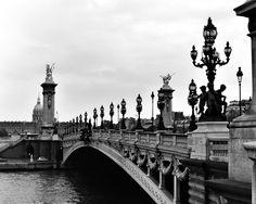 Pont Alexandre III in Paris - inspiration