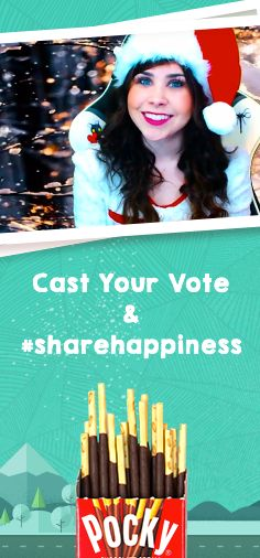 I just voted for Haley to win $5,000 Operation Supply Drop and you can too! Click to watch her video and share happiness with Pocky!  #sharehappiness