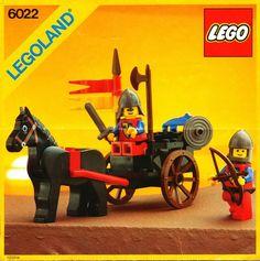 6022-1: Horse Cart | Brickset: LEGO set guide and database