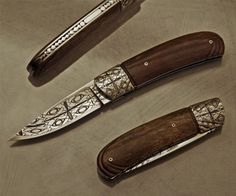 Work from 2005   André Andersson Custom Knives