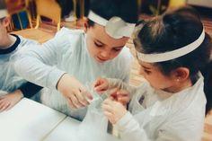 Science kids experiments activity - Preschool Kids