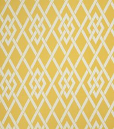 Upholstery Fabric-Eaton Square Sherry   Gold Lattice @ Joann