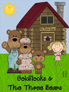 Classroom Freebies Too: Goldilocks and the Three Bears Word Wall game